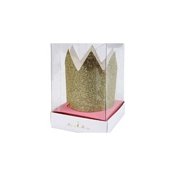 Meri Meri Mini Gold Glitter Crown