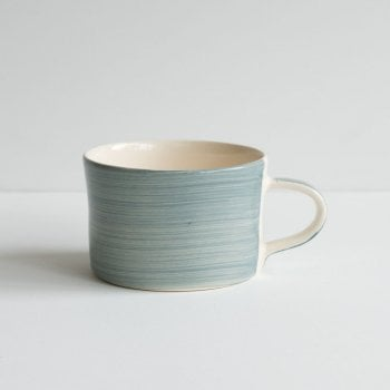 Musango Mug Dove Grey Plain Wash