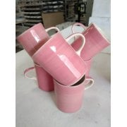 Rose Plain Wash Demi Mug