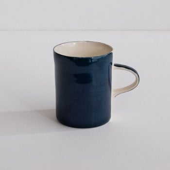 Musango Teal Plain Wash Demi Mug