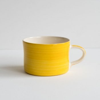 Musango Yellow Wash Mug