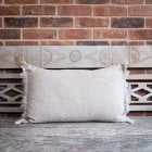 Stylish Natural Linen Cushion