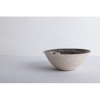 Wonki Ware Cereal Bowl Beach Sand Charcoal