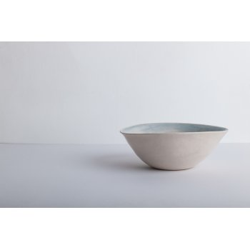 Wonki Ware Cereal Bowl Beach Sand Duck Egg