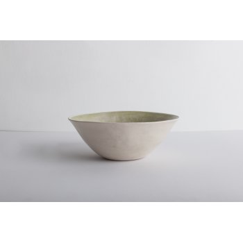 Wonki Ware Noodle Bowl - Beach Sand - Green