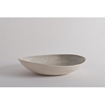 Wonki Ware Oval Dish Beach Sand Duck Egg