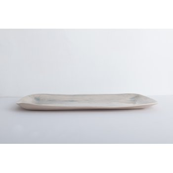 Wonki Ware Rectangular Platter Duck Egg