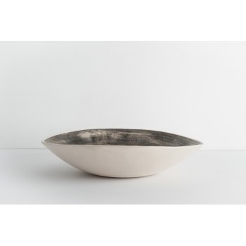 Wonki Ware Salad Bowl - Beach Sand - Charcoal
