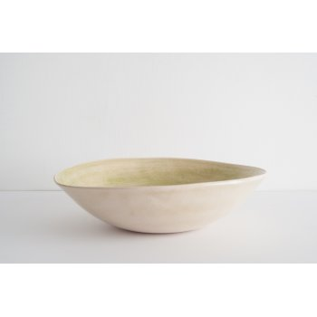 Wonki Ware Salad Bowl - Beach Sand - Green