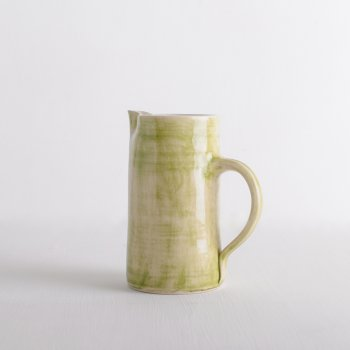 Wonki Ware Squat Jugs Plain Wash Green