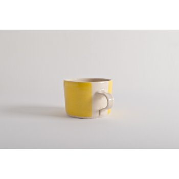Wonki Ware Squat Mug Yellow