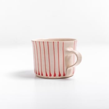 Wonki Ware Squat Red Stripe